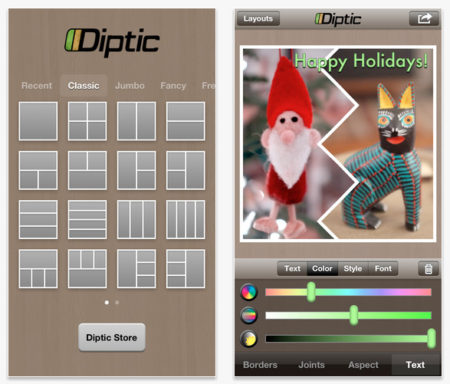 Diptic Apps Photo Editor