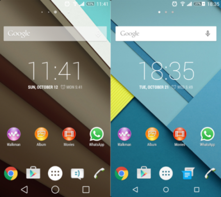 Lollipop Theme android