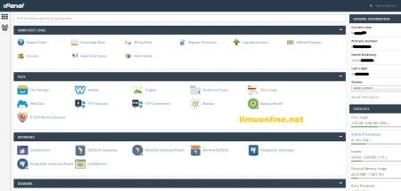 cara mengganti password cPanel hosting