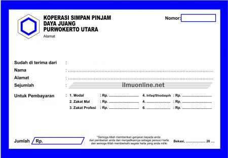 Download Kumpulan Kwitansi Format Cdr