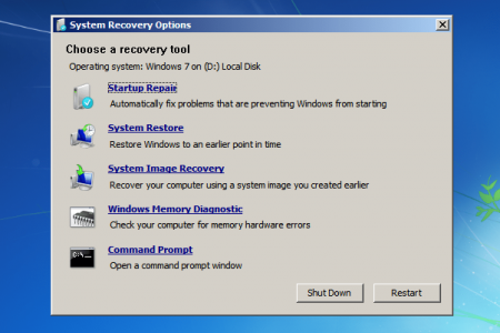 cara mengatasi bootmgr is missing di Windows 7 dan win 7